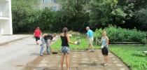 Upravená zahrada – děkujeme za pomoc