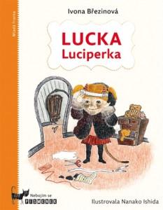 Lucka Luciperka - titulní strana knížky