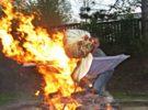 Pálení čarodějnic a stavění Májky ve Filipovce